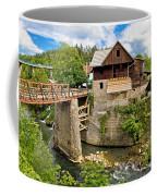 Village Of Rastoke River Canyon Coffee Mug