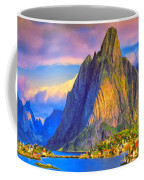 Village On The Naeroyfjord Norway Coffee Mug