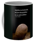 Vince Lombardi On Perfection Coffee Mug