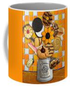 Vincent's Sunflower Cookie Jar Coffee Mug