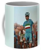 Vincenzo Nibali Painting Coffee Mug