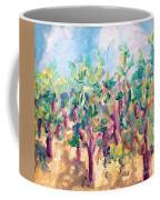 Vineyard In The Afternoon Sun Coffee Mug