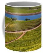 Vineyard On A Lake Coffee Mug