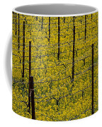 Vineyards Full Of Mustard Grass Coffee Mug