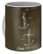 Vintage 1902 Anchor Patent Coffee Mug