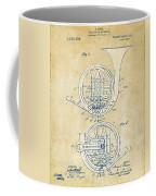 Vintage 1914 French Horn Patent Artwork Coffee Mug