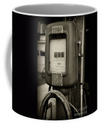 Vintage Air Station In Black And White Coffee Mug
