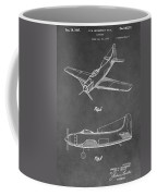 Vintage Airplane Patent Coffee Mug