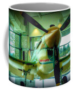 Vintage Airplane Three Coffee Mug