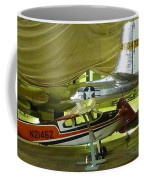 Vintage Airplanes Display Coffee Mug