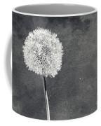 Vintage Allium Flower Coffee Mug