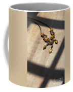 Vintage Amber Necklace Coffee Mug