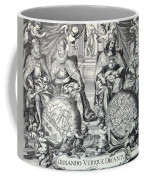 Vintage Antique Map Ornando Vtriqve Dicantvr Coffee Mug