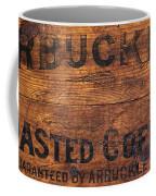 Vintage Arbuckles Roasted Coffee Sign Coffee Mug