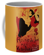 Vintage Art Poster Advertisement Entertainment Toulouse Lautrec 1892 Coffee Mug