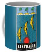 Vintage Australia Travel Poster Coffee Mug