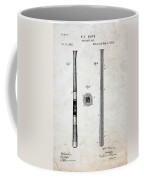 Vintage Baseball Bat Patent Coffee Mug