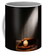 Vintage Baseball Coffee Mug by Olivier Le Queinec