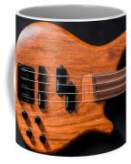 Vintage Bass Guitar Body Coffee Mug