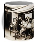 Vintage Beauty Parlor Coffee Mug
