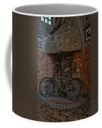 Vintage Bicycle Coffee Mug by Susan Candelario