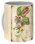 Vintage Bird Study-b Coffee Mug