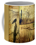Vintage Birds Collage Coffee Mug