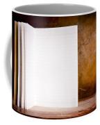Vintage Blank Notepad Coffee Mug