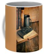 Vintage Books And Eyeglasses Coffee Mug