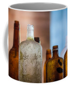 Vintage Bottles Coffee Mug by Adam Romanowicz