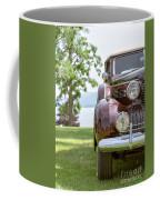 Vintage Caddy At Lake George Coffee Mug
