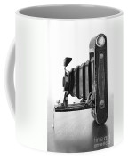 Vintage Camera - Black And White Coffee Mug