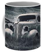 Vintage Car At Bodie Coffee Mug by Kelley King