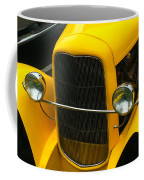Vintage Car Yellow Detail Coffee Mug