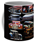 Vintage Cars Collage 2 Coffee Mug