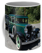 Vintage Cars Green Chevrolet Coffee Mug