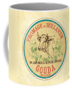 Vintage Cheese Label 1 Coffee Mug by Debbie DeWitt
