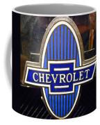 Vintage Chevrolet Logo Coffee Mug