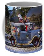 Vintage Christmas Car Coffee Mug