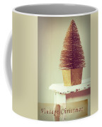 Vintage Christmas Treee Coffee Mug by Amanda Elwell