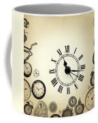Vintage Clocks Coffee Mug