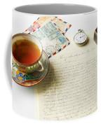 Vintage Correspondence Coffee Mug