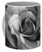 Vintage Cracked Rose Coffee Mug
