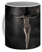 Vintage Crucifixion Coffee Mug
