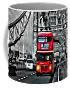 Vintage Double Decker In London Coffee Mug