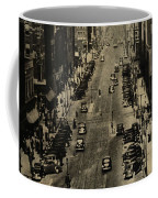 Vintage Downtown View Coffee Mug