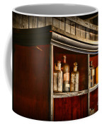 Vintage Druggist Shelf Coffee Mug