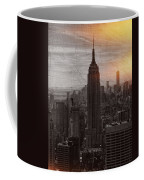 Vintage Empire State Building Coffee Mug
