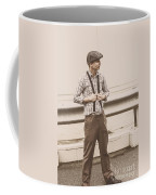 Vintage Fashion Model Coffee Mug