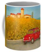Vintage Fiat 500 Coffee Mug
